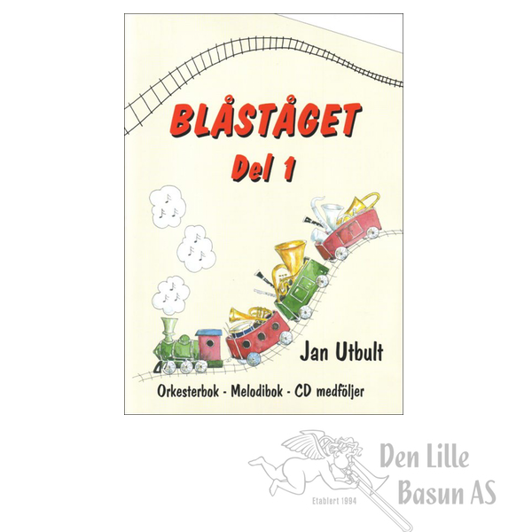 BLÅSTÅGET 1 TROMBONE/BARYTON G-NØKKEL - BOK MED CD