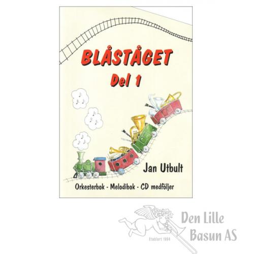 BLÅSTÅGET 1 TROMBONE/BARYTON F-NØKKEL - BOK MED CD