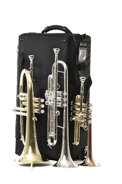 Torpedobag Coyote 2.5 Snap m/hjul multi (trompet,flygelhorn/piccolo) eller (trompet/trompet/piccolo)