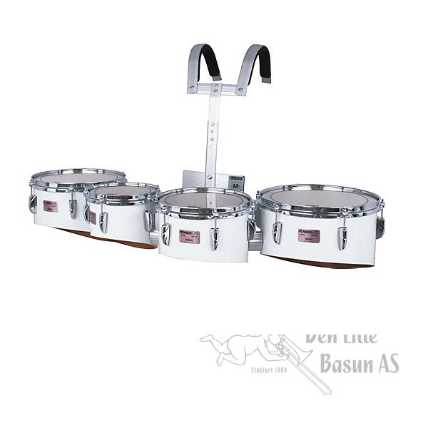 YAMAHA QD-6312 MARCHING QUAD TOMS 6/8/10/12""