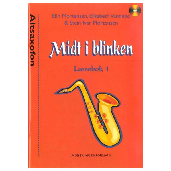 MIDT I BLINKEN ALTSAXOFON BOK 1