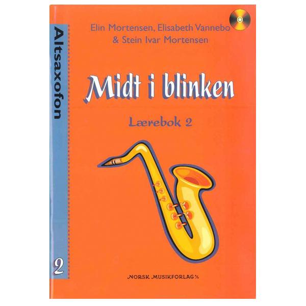 MIDT I BLINKEN ALTSAXOFON BOK 2