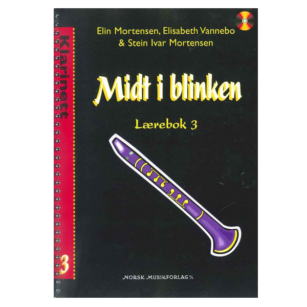 MIDT I BLINKEN KLARINETT BOK 3