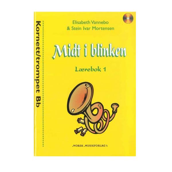 MIDT I BLINKEN KORNETT/TROMPET BOK 1