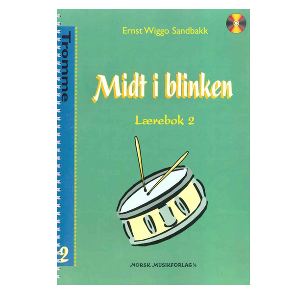 MIDT I BLINKEN TROMMER BOK 2