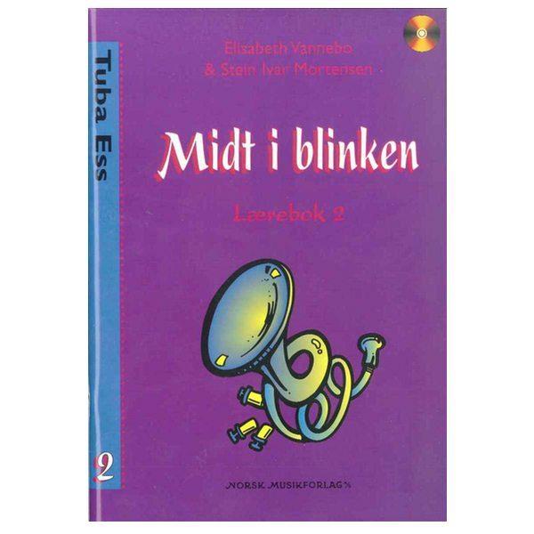 MIDT I BLINKEN TUBA Eb BOK 2 G-NØKKEL