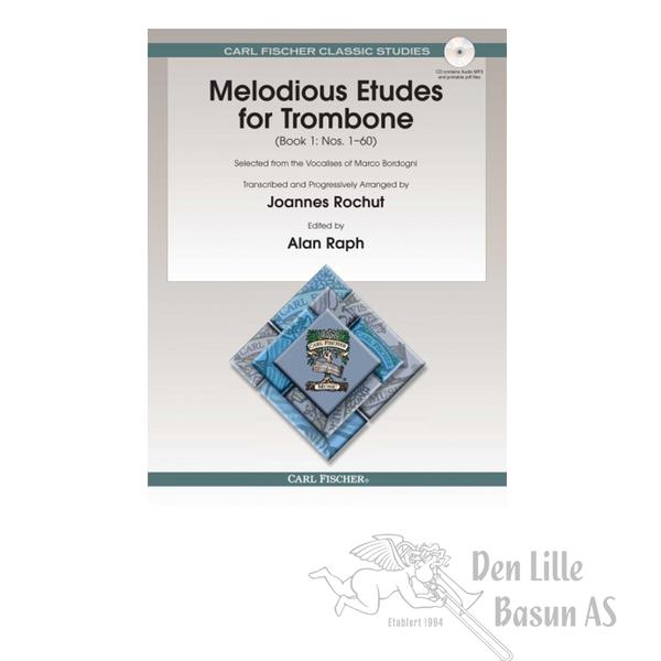 ROCHUT, MELODIUS ETUDES FOR TROMBONE BOK I
