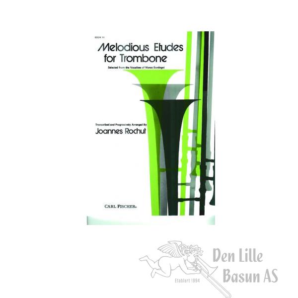 ROCHUT, MELODIUS ETUDES FOR TROMBONE BOK III