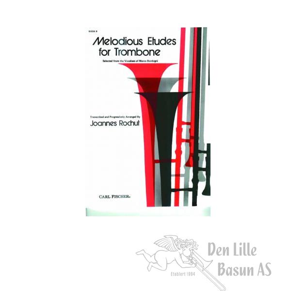 ROCHUT, MELODIUS ETUDES FOR TROMBONE BOK II