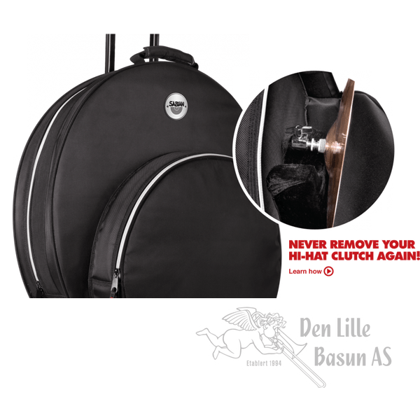 SABIAN SPRO22 FAST CYMBALBAG MED HJUL