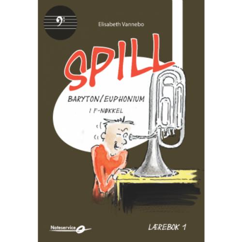 SPILL BARYTON/ EUPHONIUM I F-NØKKEL BOK 1