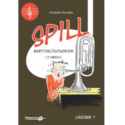 SPILL BARYTON/ EUPHONIUM I G-NØKKEL BOK 1