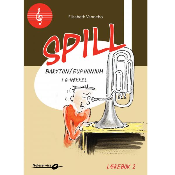 SPILL BARYTON/ EUPHONIUM I G-NØKKEL BOK 2