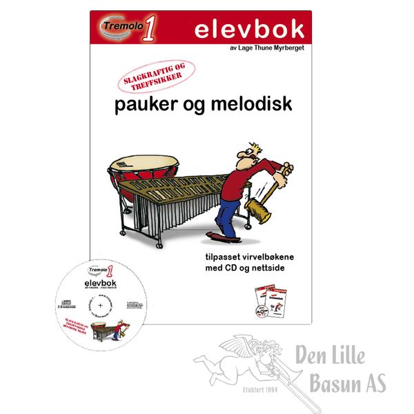TREMOLO 1 ELEVBOK FOR PAUKER OG MELODISK SLAGVERK