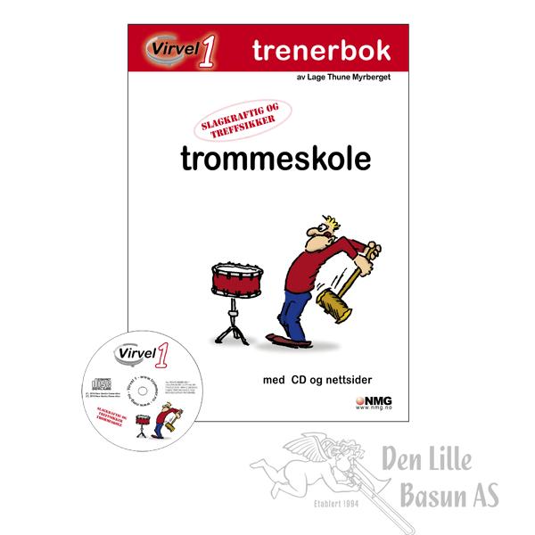 VIRVEL 1 VERSJON 2.0 TROMMESKOLE - TRENERBOK