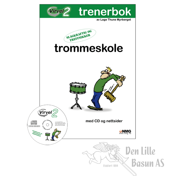VIRVEL 2 TROMMESKOLE - TRENERBOK