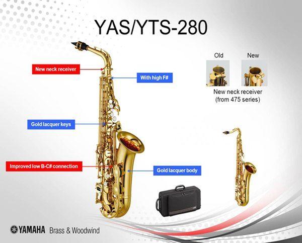 YAMAHA YAS-280 S ALTSAXOFON
