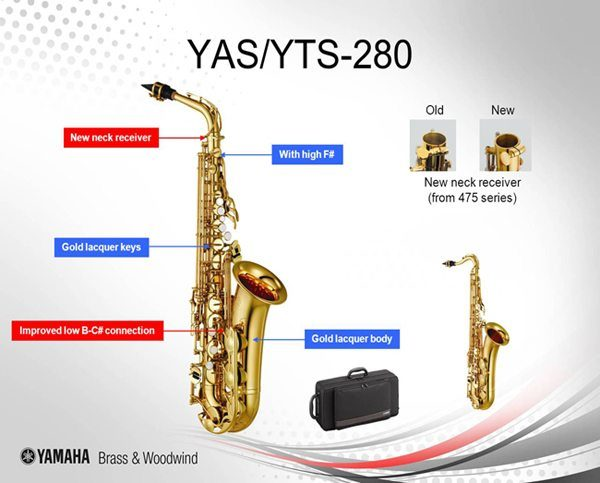 YAMAHA YAS-280 ALTSAXOFON