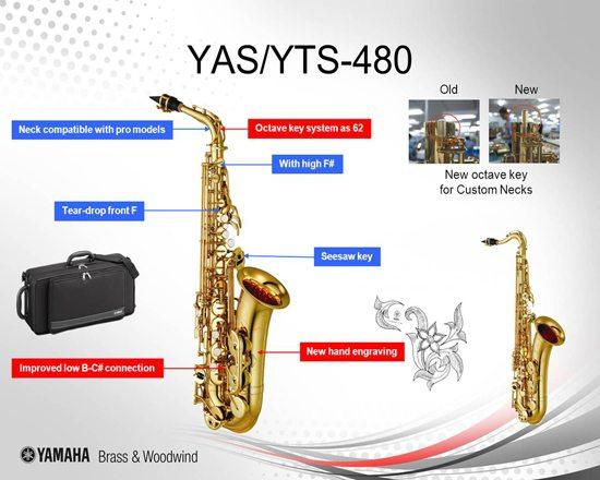 YAMAHA YTS-480 TENORSAXOFON