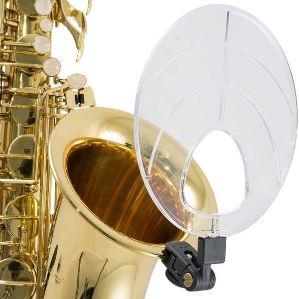 SOUND BACK CLIP ON AKUSTISK MONITOR FOR SAXOFON – Den Lille