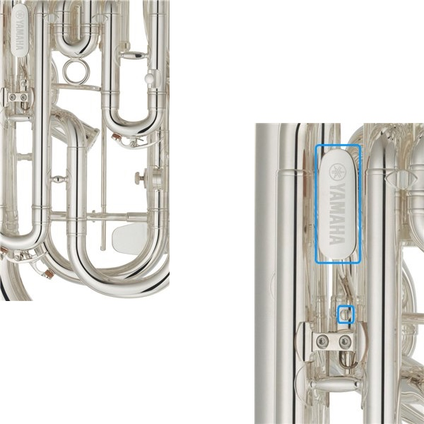 YAMAHA YEP-642TS 02 NEO EUPHONIUM Detaljbilde stemmebøyle