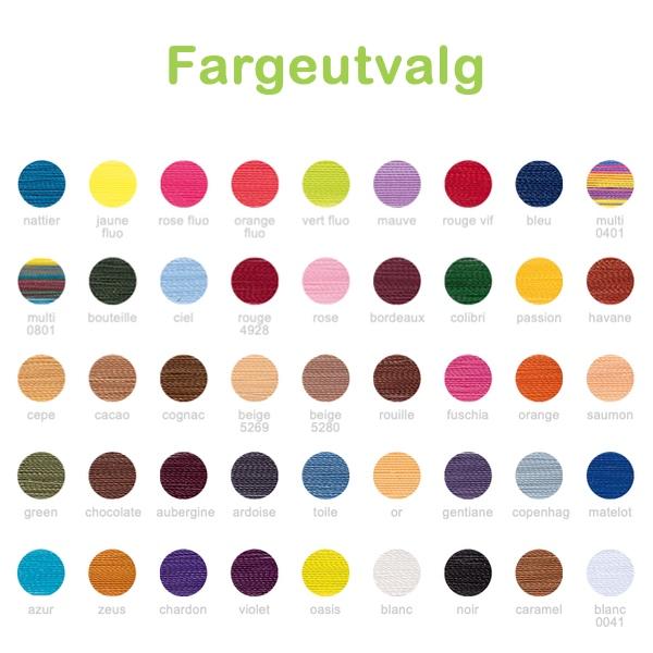 Fargeutvalg - Le Soie