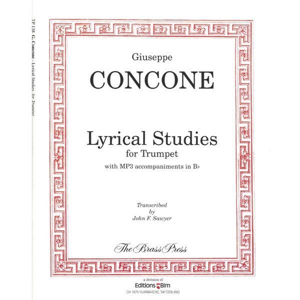 CONCONE: LYRICAL STUDIES FOR TRUMPET