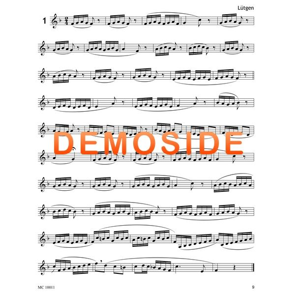 VINCENT CICHOWICZ FLOW STUDIES VOLUME 1 FOR TROMPET - demoside