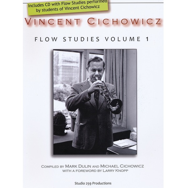 VINCENT CICHOWICZ FLOW STUDIES VOLUME 1 FOR TROMPET