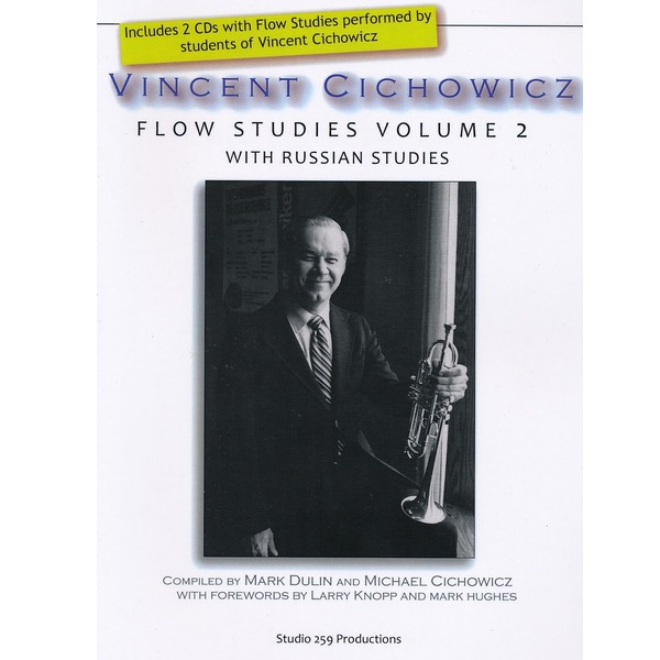 VINCENT CICHOWICZ FLOW STUDIES VOLUME 2 FOR TROMPET