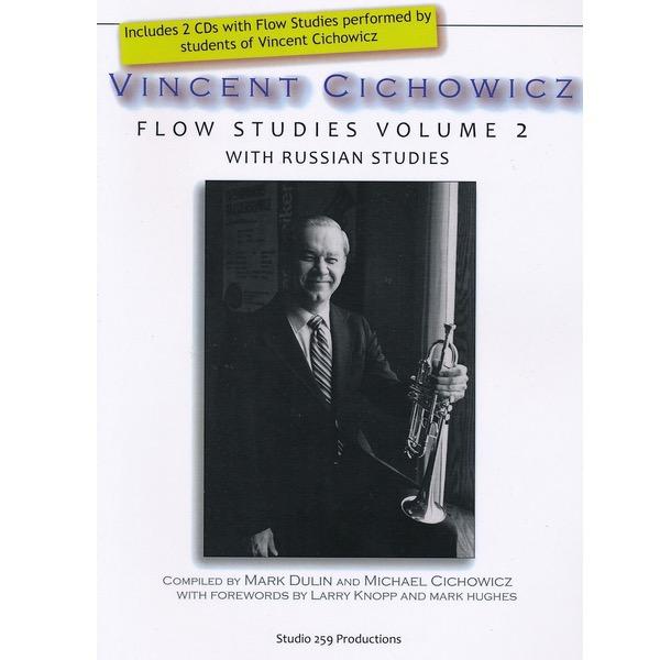VINCENT CICHOWICZ FLOW STUDIES VOLUME 2 FOR TROMPET