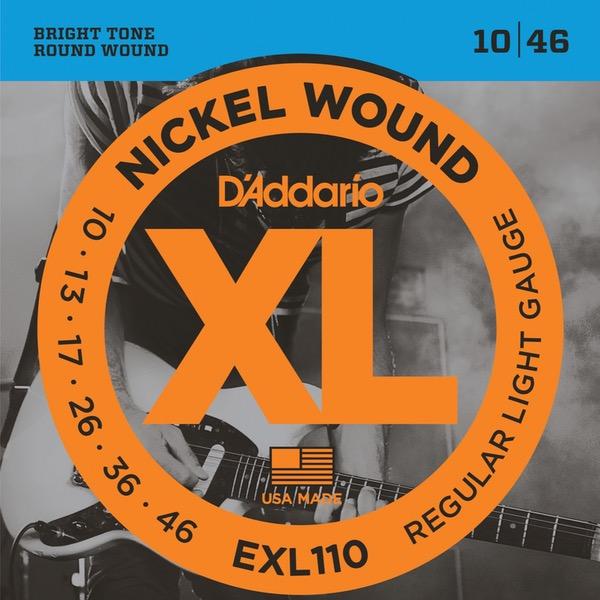 D´ADDARIO EXL110 STRENGER TIL ELGITAR
