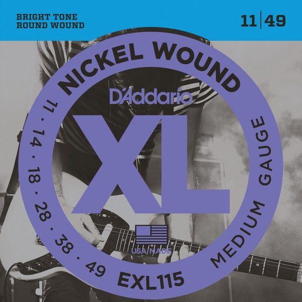 D´ADDARIO EXL115 STRENGER TIL ELGITAR