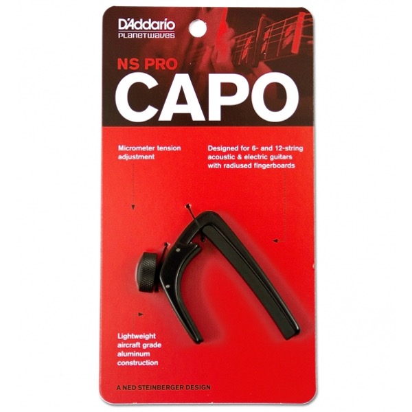 D´ADDARIO PW-CP-02 NS CAPO PRO i embalasje