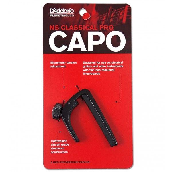 D´ADDARIO PW-CP-04 NS CLASSICAL CAPO PRO i embalasje