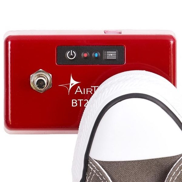 AIRTURN BT200S-2 BLUETOOTHPEDAL i bruk