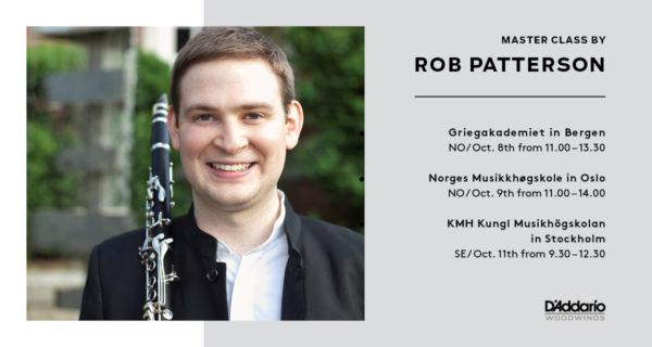 Rob Patterson- Masterclass