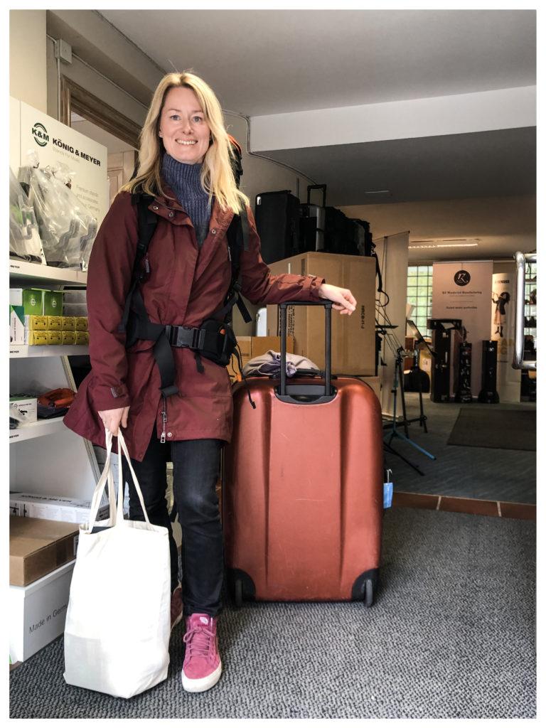 Lene avreise til Oborama Bergen