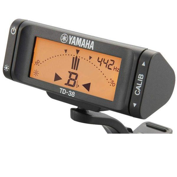 YAMAHA TD-38L CLIP-ON TUNER - skjerm