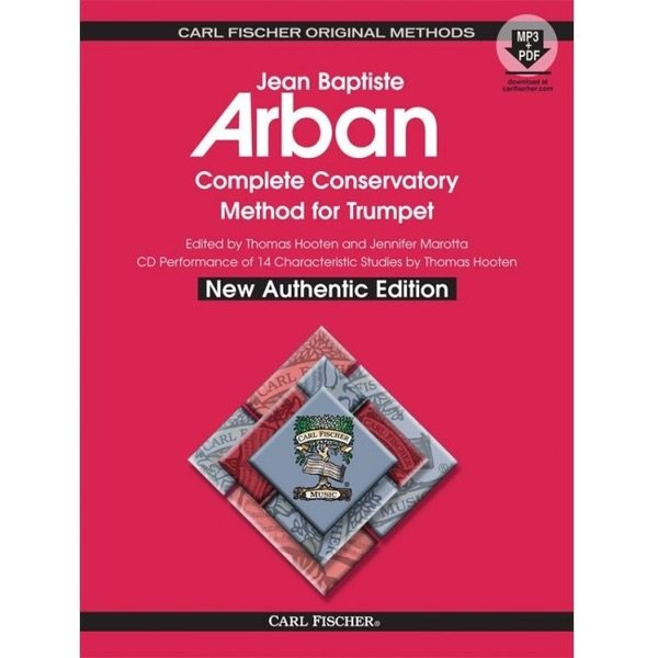 ARBAN: COMPLETE CONSERVATORY METHOD FOR TRUMPET SPIRALINNBUNDET