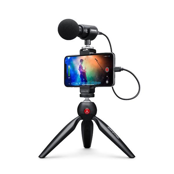 SHURE MV88+ VIDEO KIT MIKROFON med iphone
