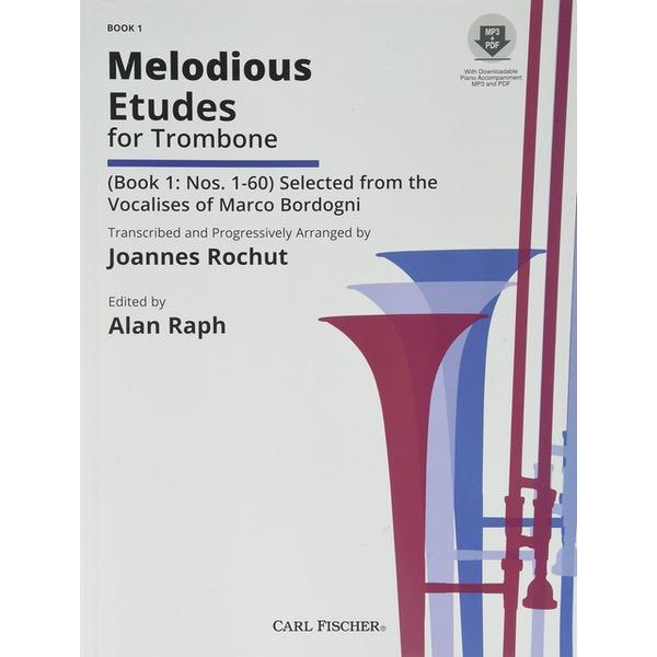 ROCHUT MELODIOUS ETUDES VOL. 1 ( MP3 )TROMBONE