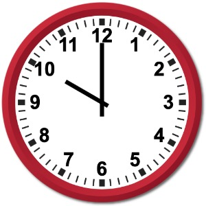 Klokka 10:00
