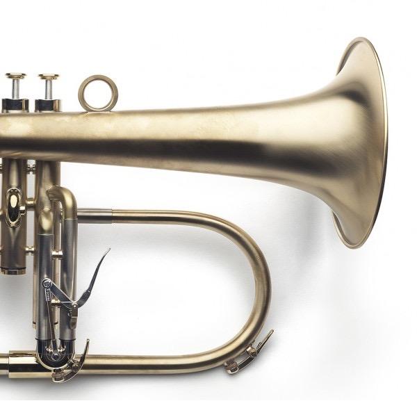 VAN LAAR FLYGELHORN FINISH - Raw Brass