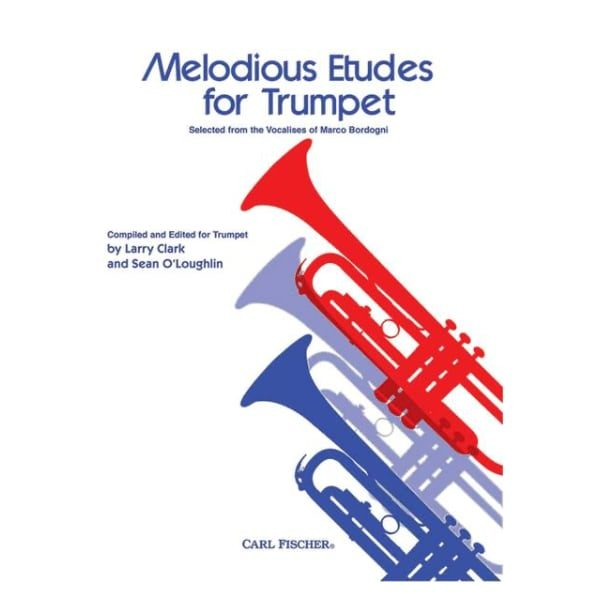 MELODIOUS ETUDES FOR TRUMPET - BORDOGNI