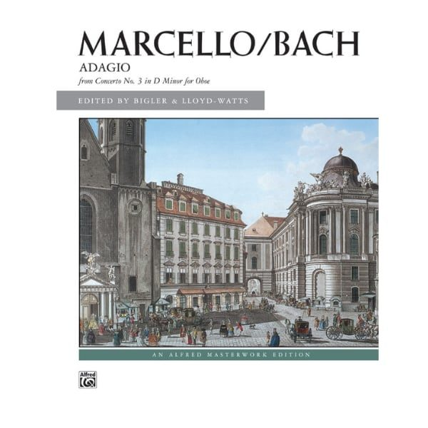 MARCELLO_BACH ADAGIO FROM CONCERTO NO. 3 IN D MINOR FOR OBOE