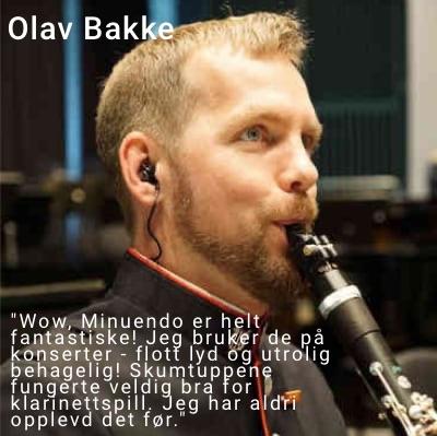 Olav Bakke med tekst