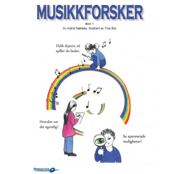MUSIKKFORSKER 1 - AREBIDSBOK AV ASTRID NØKLEBY